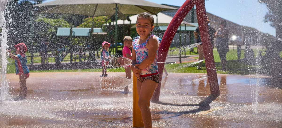 Water Park at Summerland House Farm