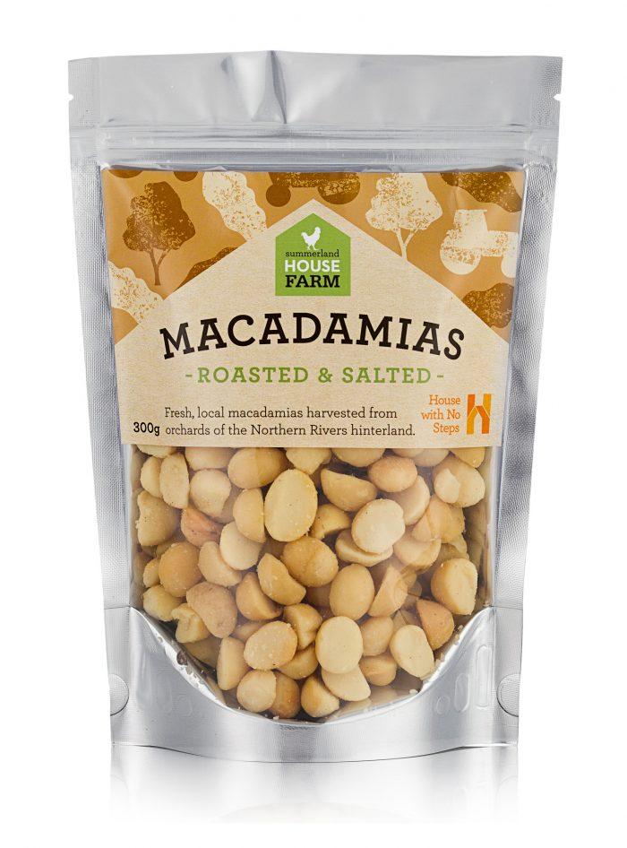 Roasted and Salted Macadamia