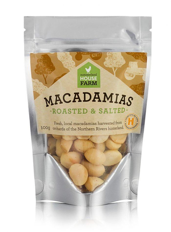 Roasted and Salted Macadamias