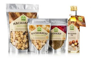 Selection of Summerland House Farm Macadamia products